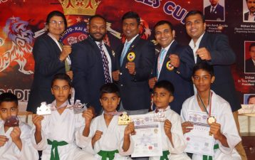 VIP's INTERNATIONAL SCHOOL - ROYAL CHALLENGES CUP IN KARATE @ NOIDA